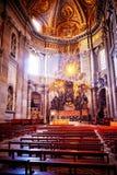 Absid av basilikan av St Peter i Rome Royaltyfri Foto