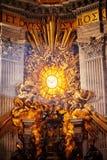 Absid av basilikan av St Peter i Rome Arkivfoto