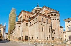 Absid av den Parma domkyrkan Royaltyfria Bilder