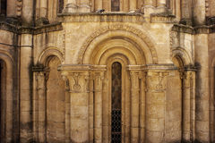 Absid av domkyrkorna av Salamanca Arkivfoto