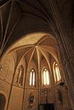 Absid av kyrkan av San Pedro, Ciudad Real, Spanien Arkivbild