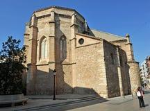 Absid av kyrkan av San Pedro, Ciudad Real, Spanien Royaltyfria Bilder