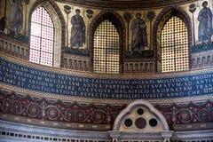 Absid i basilikan av St John Lateran i Rome Italien Royaltyfri Foto