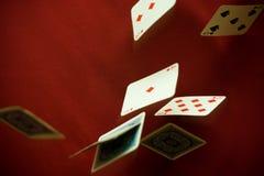 Absinkende Diamanten Lizenzfreies Stockbild