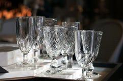 Absintexponeringsglas Arkivbild