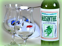 Absinthe Carnival Royalty Free Stock Image