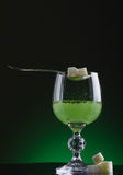 Absinthe glass Royalty Free Stock Photos