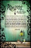 Absinthe Original Poetry Poster Royalty Free Stock Photos