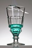 Absinthe Ritual Royalty Free Stock Photography
