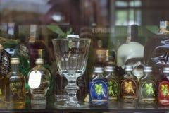 Absinthe store, Prague Royalty Free Stock Photos