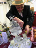 Absinthe at Vintage day Montmartre Paris Royalty Free Stock Photo