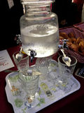 Absinthe at Vintage day Montmartre Paris Stock Image