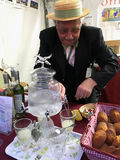 Absinthe at Vintage day Montmartre Paris Royalty Free Stock Images