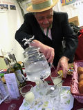 Absinthe at Vintage day Montmartre Paris Royalty Free Stock Photography