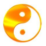 absolu Yang tai chi symbolu super ying Obraz Stock