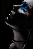 Absolument noir Photographie stock libre de droits