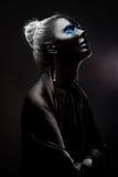 absolut black Royaltyfri Bild