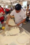 Absolut italiensk mästerskap av pizza Royaltyfria Bilder