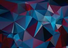 Absolut polygonbakgrund HD Royaltyfria Foton