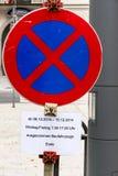 Absolut stoppa förbud och undantag Fotografering för Bildbyråer