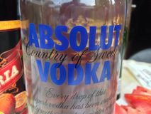 Absolut vodka Royaltyfria Bilder
