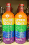 Absolut Vodka True Colors Equality Bottle Stock Photo