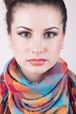 Absolut vollkommenes Mädchenportrait Stockfoto