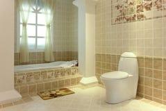 Absolutamente cuarto de baño Foto de archivo libre de regalías