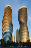Absolute Condominiums, Mississauga. TORONTO, ONTARIO - March 27:  M.A.D. Architects of Beijing wins a competition to design the Absolute condominiums in Stock Photos