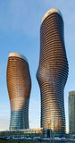 Absolute Condominiums, Mississauga. TORONTO, ONTARIO - March 27:  M.A.D. Architects of Beijing wins a competition to design the Absolute  condominiums in Stock Images