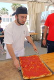 Absolute Italian championship of pizza. Civitavecchia Rome Italy is awarded the pizza championship for the seventeenth edition of the Absolute National stock images