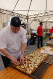 Absolute Italian championship of pizza. Civitavecchia Rome Italy is awarded the pizza championship for the seventeenth edition of the Absolute National royalty free stock images