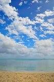 Absolute Mauritius. Nice serene view of Mauritius shoreline Stock Photo