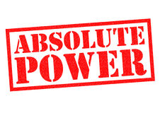 ABSOLUTE POWER Royalty Free Stock Photo