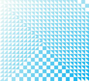 Absolute purity. Abstract geometric background in light blue tones Stock Illustration