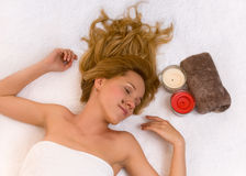 Absolute relaxation Royalty Free Stock Photography