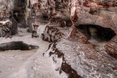 Absolutismfloden är en delstatspark på den norr kusten av sjön Supe Fotografering för Bildbyråer