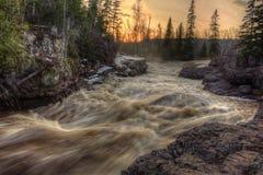 Absolutismfloden är en delstatspark på den norr kusten av sjön Supe Royaltyfri Fotografi