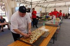 Absolutny Włoski mistrzostwo pizza zdjęcie royalty free