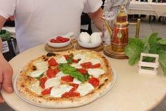 Absolutny Włoski mistrzostwo pizza obrazy royalty free