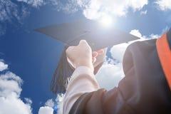 Absolvent der Universität stockbilder