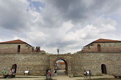 ABSOLVENT-FESTUNG BULGARIENS CARI MALI Lizenzfreie Stockfotografie