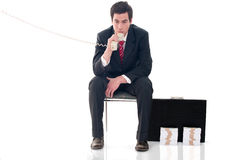 Absorbed in thought Royalty Free Stock Photography