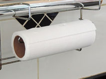 Absorbent paper roll Stock Photography