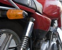 'absorber' de choque da motocicleta Imagens de Stock Royalty Free