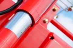 'absorber' de choque hidráulico Fotografia de Stock Royalty Free
