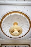 Absorbera kupolen lätt på taket Arkivbilder