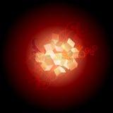 absornate κόκκινο διανυσματική απεικόνιση