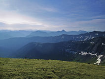 Absoroka-Berge, Montana lizenzfreies stockbild