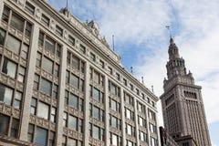 Abspannmast, Cleveland, Ohio Lizenzfreies Stockfoto
